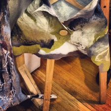 Merino Wool & Silk Shrug