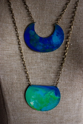painted pendants